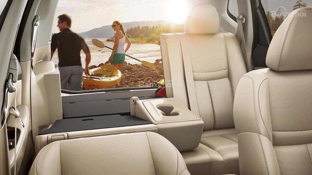 Đánh giá xe Nissan X-Trail 2018 về hệ thống ghế ngồi
