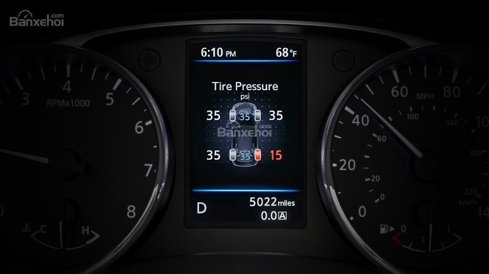 Đánh giá xe Nissan X-Trail 2018 về cụm đồng hồ a1