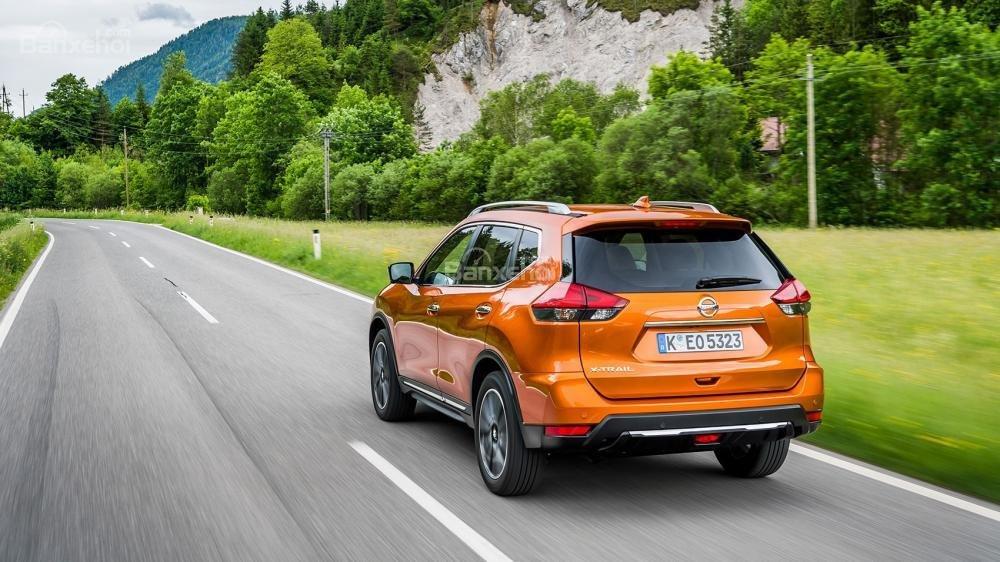 Đánh giá xe Nissan X-Trail 2018 về tính năng an toàn.