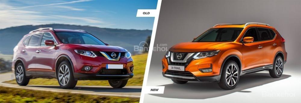 Thiết kế đèn sương mù khác biệt giữa Nissan X-Trail 2018 và bản trước đó.