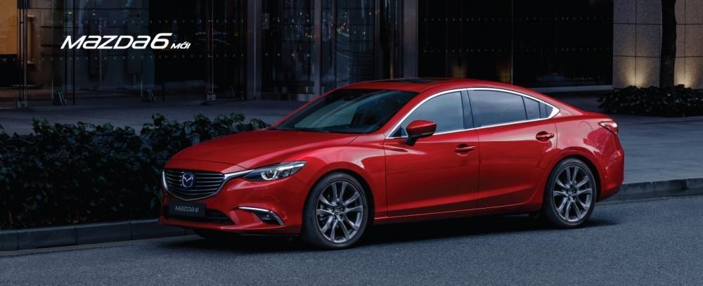 Giá xe Mazda 6 2018 cập nhật tháng 9/2018 từ 819 triệu đồng...