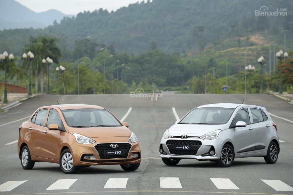 Giá xe Hyundai Grand i10 2018 mới nhất tại Việt Nam...