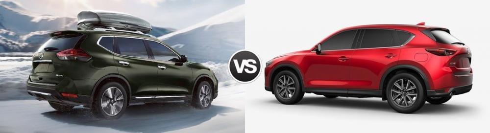 So sánh xe Nissan X-Trail 2018 và Mazda CX-5 2018 về độ an toàn.
