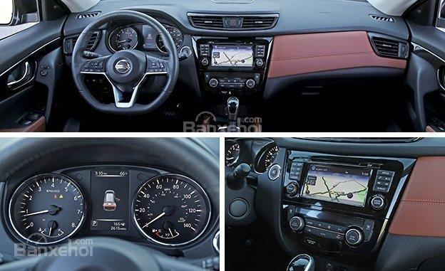 Khoang nội thất Nissan X-Trail 2018