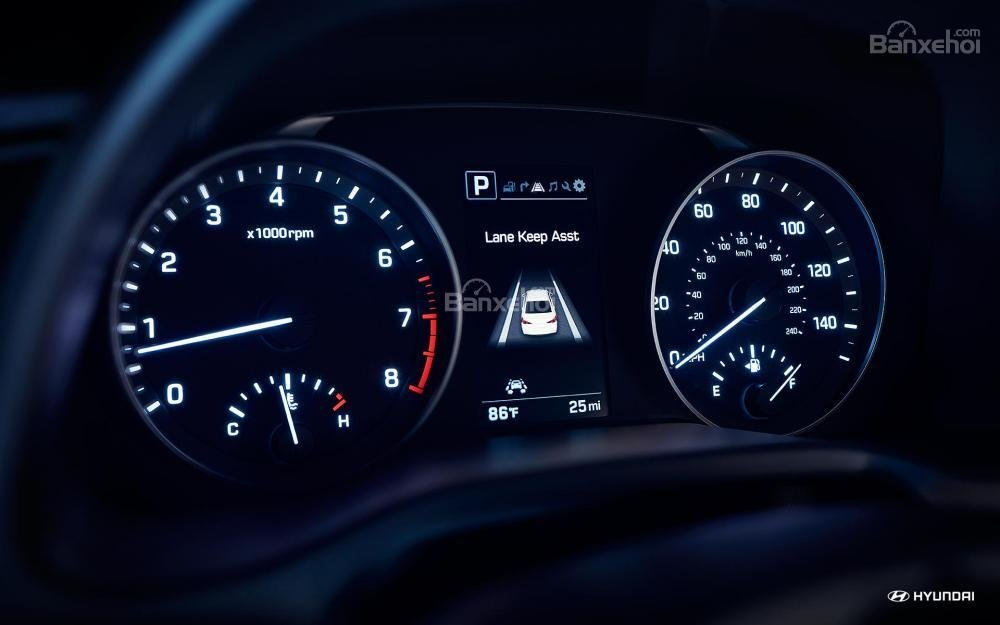 Cụm đồng hồ lái Hyundai Elantra 2018
