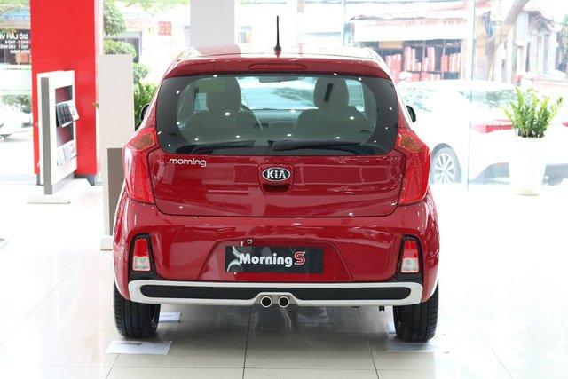 Hình ảnh đuôi xe Kia Morning S