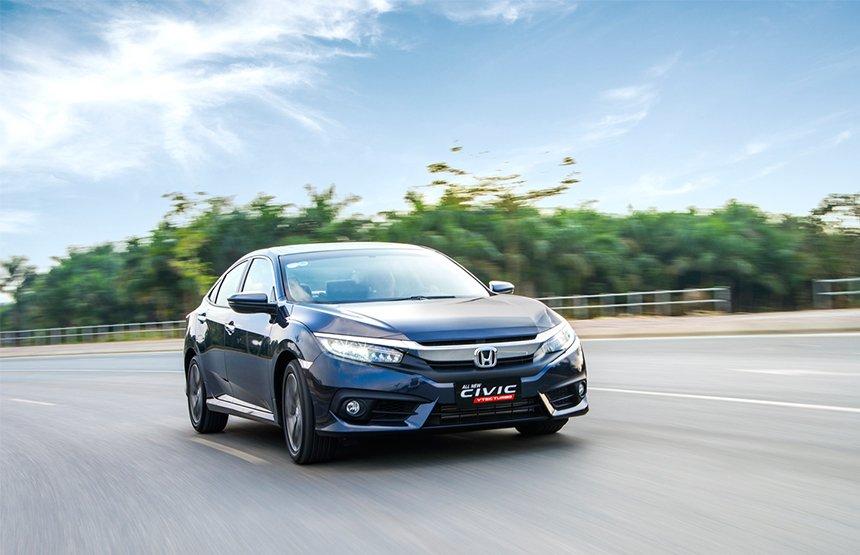 Giá xe Honda Civic chi tiết hàng tháng mới nhất.
