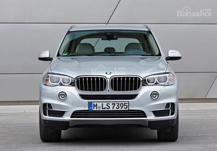 Đánh giá xe BMW X5 2017-2018: Đầu xe.