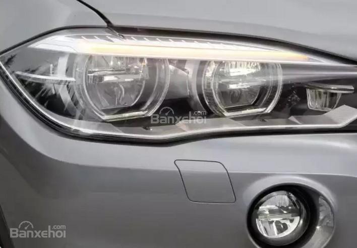 Đánh giá xe BMW X5 2017-2018: Đèn pha.