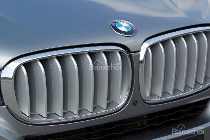 Đánh giá xe BMW X5 2017-2018: Lưới tản nhiệt.