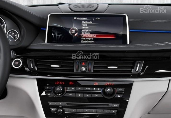 Đánh giá xe BMW X5 2017-2018: Bảng điều khiển.