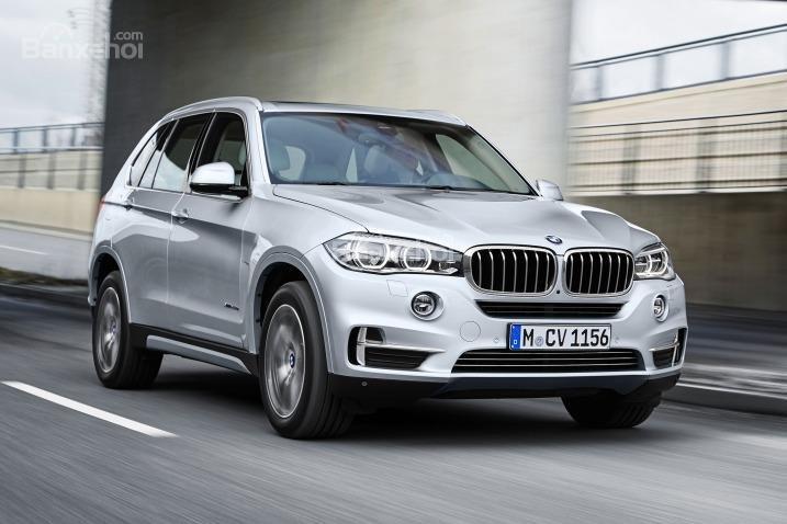 Đầu xe BMW X5 2018