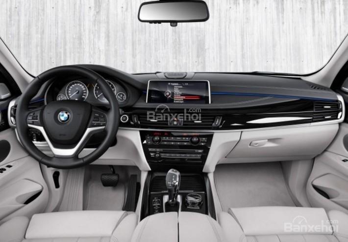 Đánh giá xe BMW X5 2017-2018: Nội thất xe sang trọng.