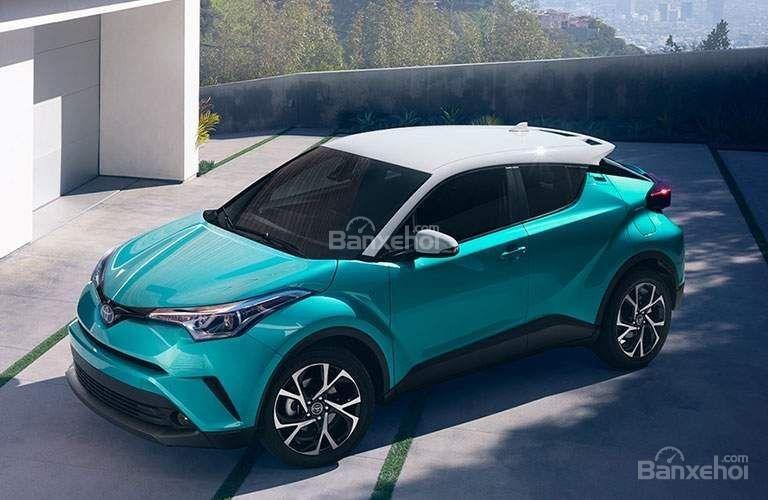 So sánh xe Toyota C-HR 2018 và Honda HR-V 2018 về thiết kế ngoại thất/