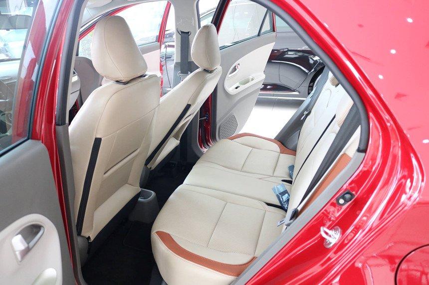 Hình ảnh ghế sau xe Kia Morning S 2018