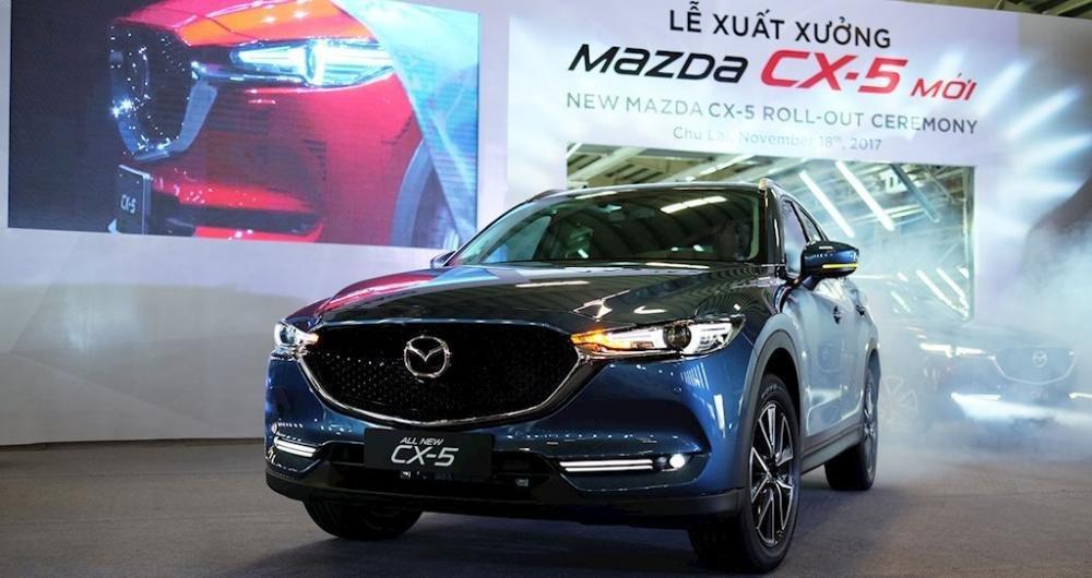 """Mazda CX-5 2018 """"hút"""" 500 đơn hàng chỉ sau 1 tuần ra mắt 1"""