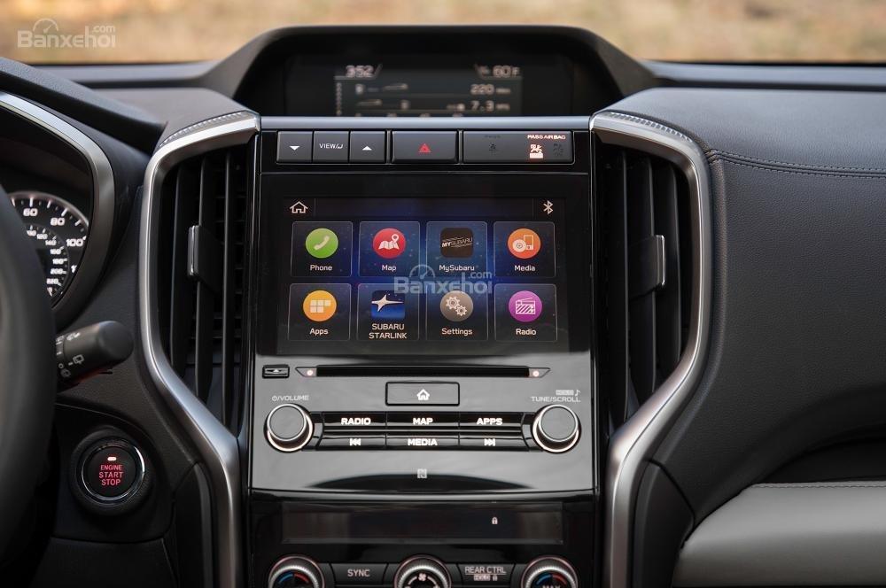 Màn hình hiển thị trung tâm trên xe Subaru Ascent 2019