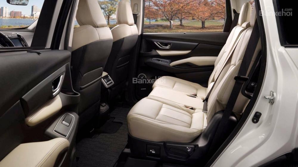 Đánh giá xe Subaru Ascent 2019 về hệ thống ghế ngồi 2