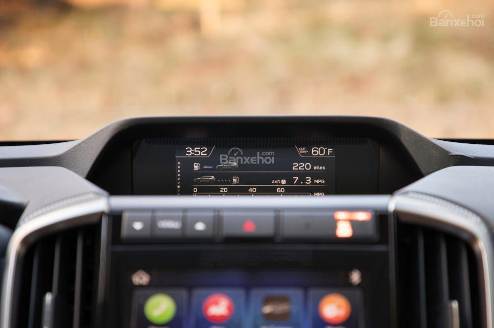 Đánh giá xe Subaru Ascent 2019 về trang bị tiện ícha