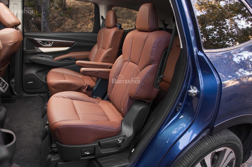 Đánh giá xe Subaru Ascent 2019 về hệ thống ghế ngồi 3