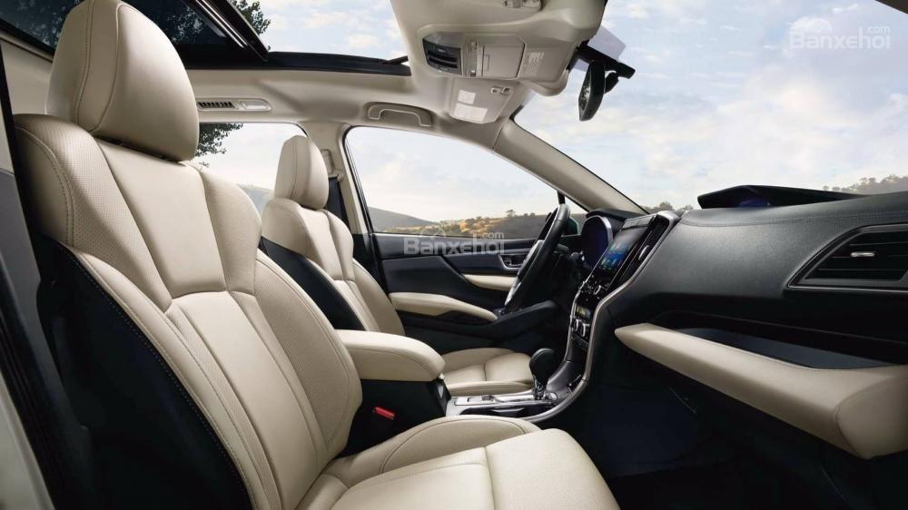 Đánh giá xe Subaru Ascent 2019 về hệ thống ghế ngồi a1