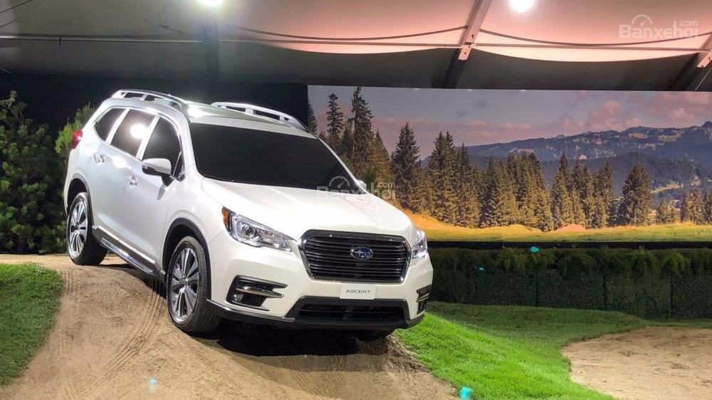 Đánh giá xe Subaru Ascent 2019 về trang bị an toàn a2