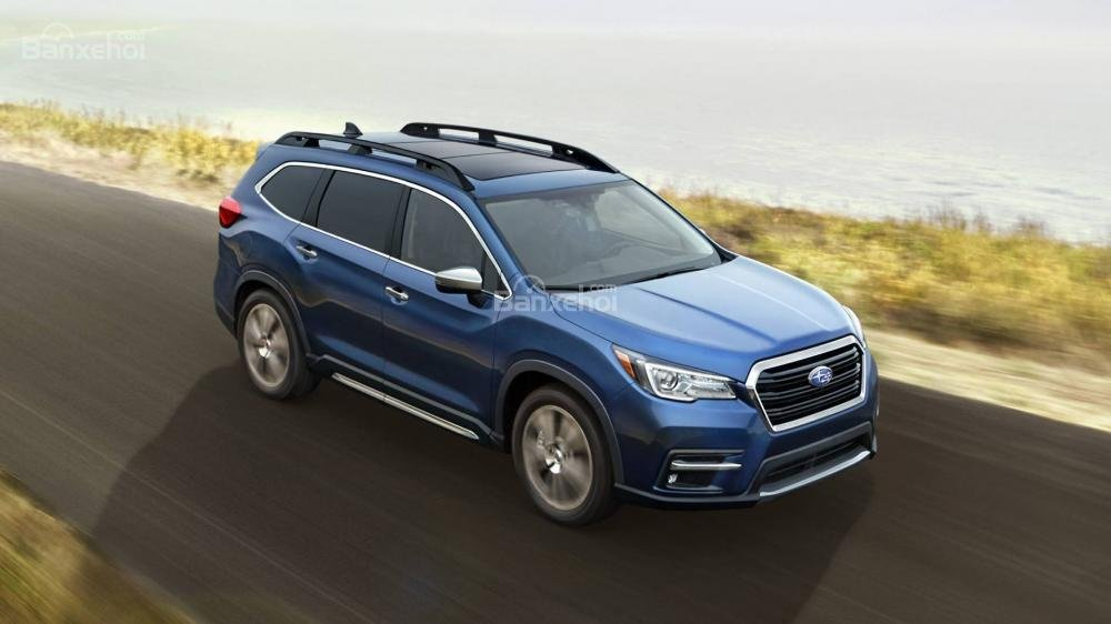 Đánh giá xe Subaru Ascent 2019 về trang bị an toàn a1