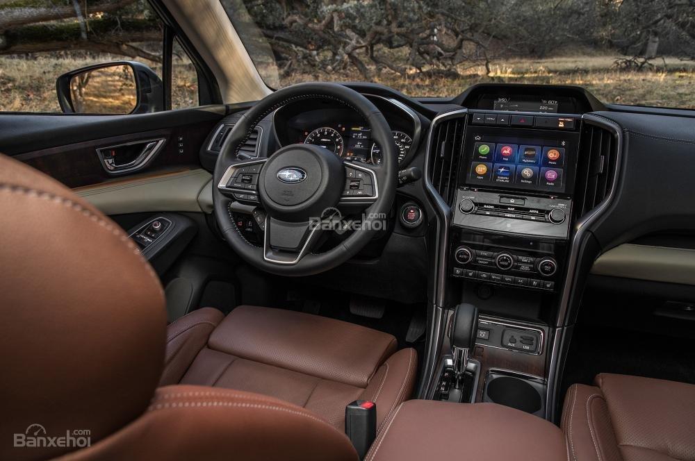 Đánh giá xe Subaru Ascent 2019 về trang bị tiện ích