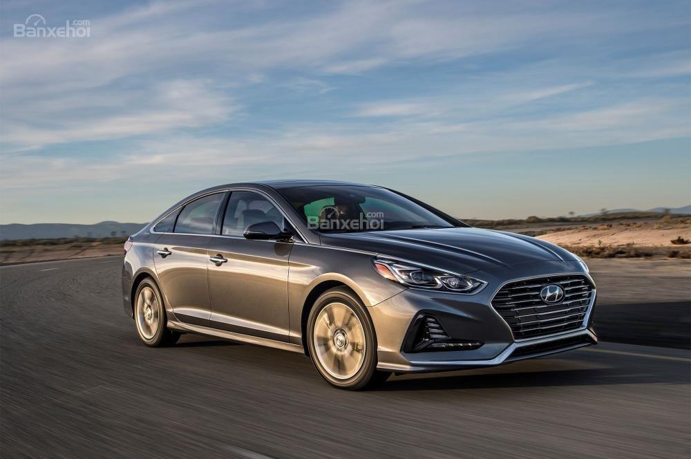 So sánh xe Hyundai Sonata 2018 và Kia Optima 2018 về giá bán.