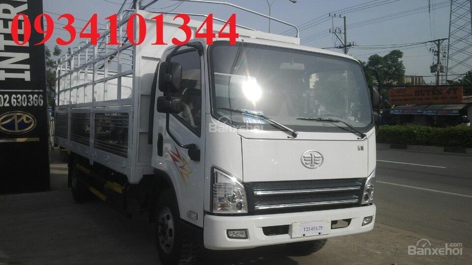 Bán xe tải Faw 7.3 tấn - máy, cầu, hộp số Hyundai- Thùng 6m2-0