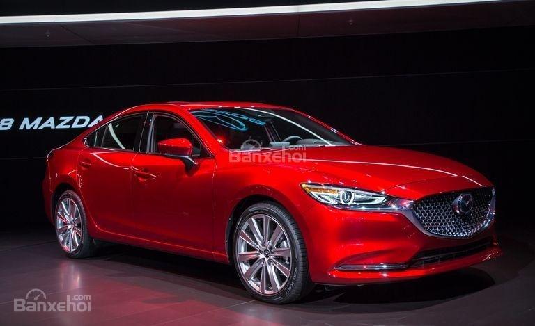 Đánh giá xe Mazda 6 2018: Thân xe.