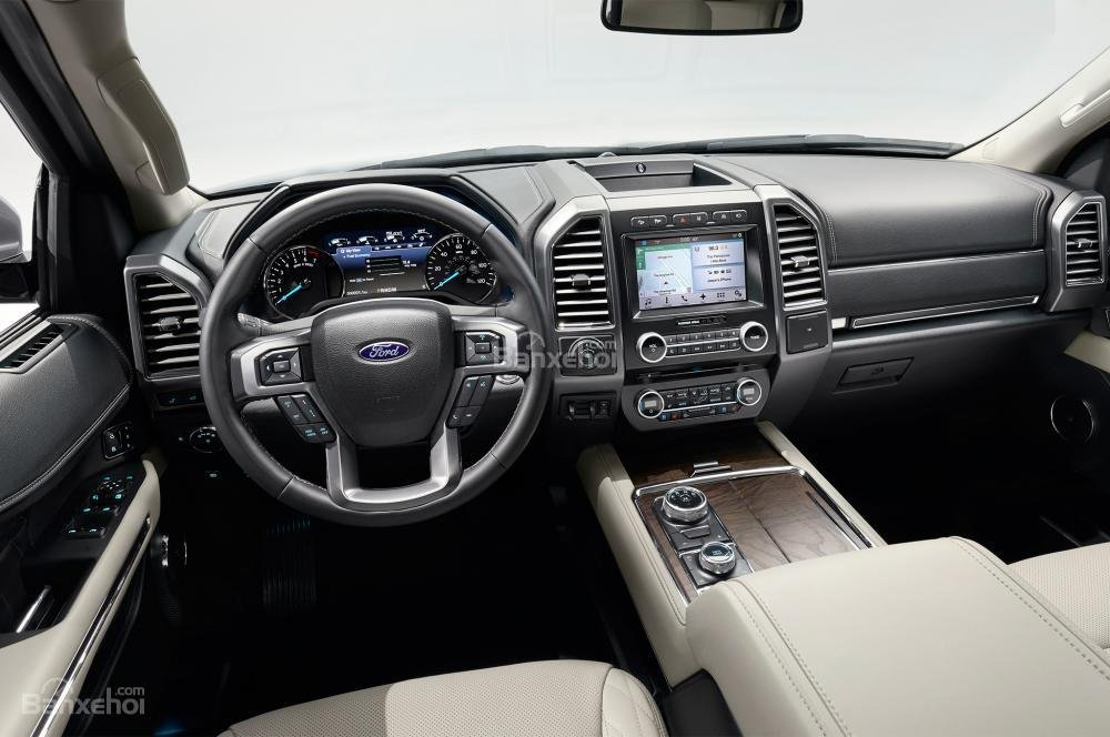 Khoang nội thất xe Ford Expedition 2018