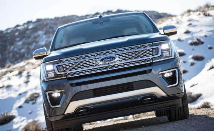 Đầu xe Ford Expedition 2018
