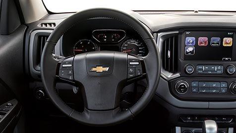 Ảnh chụp vô-lăng xe Chevrolet Trailblazer 2018