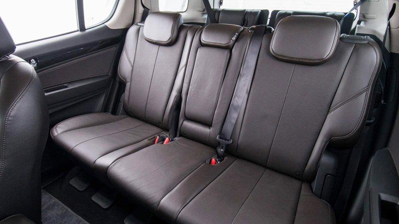 Ảnh chụp ghế sau xe Chevrolet Trailblazer 2018