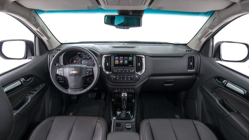 Ảnh chụp nội thất xe Chevrolet Trailblazer 2018