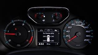 Ảnh chụp cụm đồng hồ xe Chevrolet Trailblazer 2018