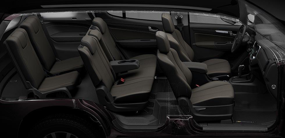 Ảnh chụp ghế xe Chevrolet Trailblazer 2018