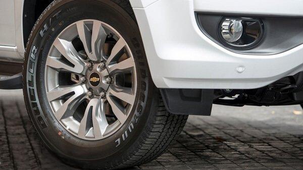 Ảnh chụp vành xe Chevrolet Trailblazer 2018