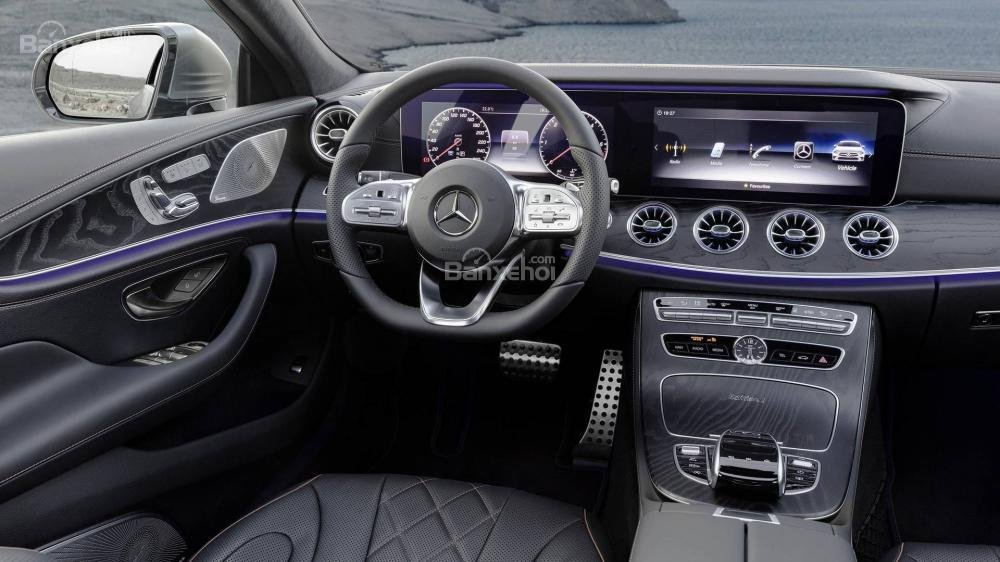 Đánh giá xe Mercedes-Benz CLS 2019 về trang bị tiện nghi...