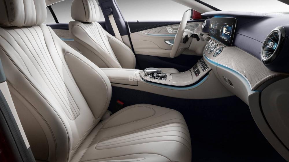 Hàng ghế lái xe Mercedes-Benz CLS 2019