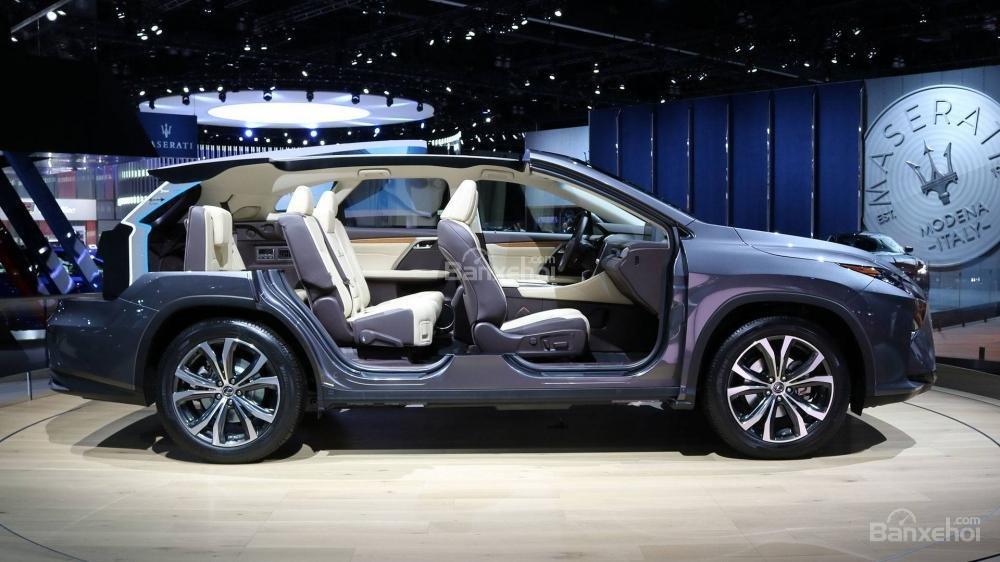 Đánh giá xe Lexus RX L 2018 về hệ thống ghế ngồi 1