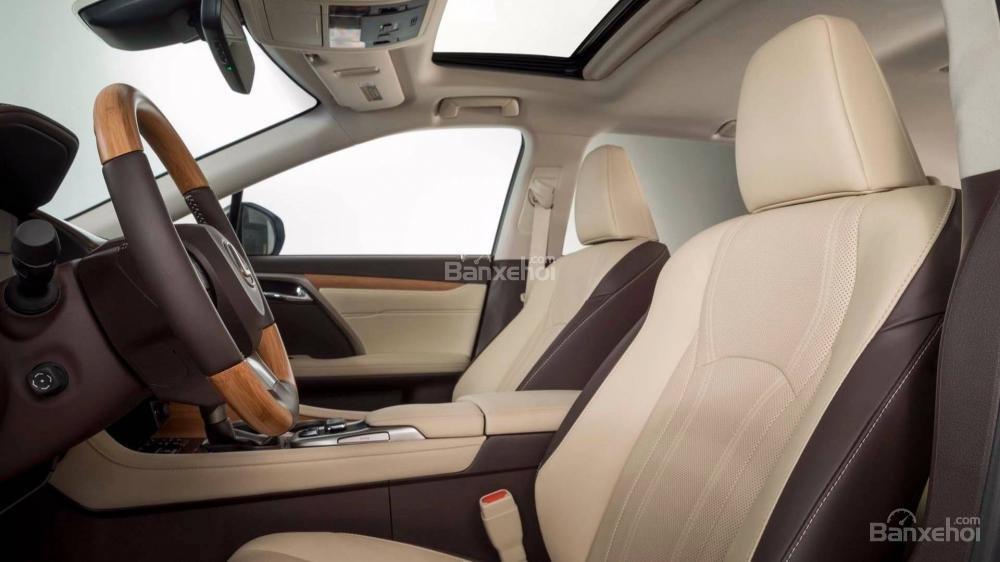 Hàng ghế lái xe Lexus RX L 2018