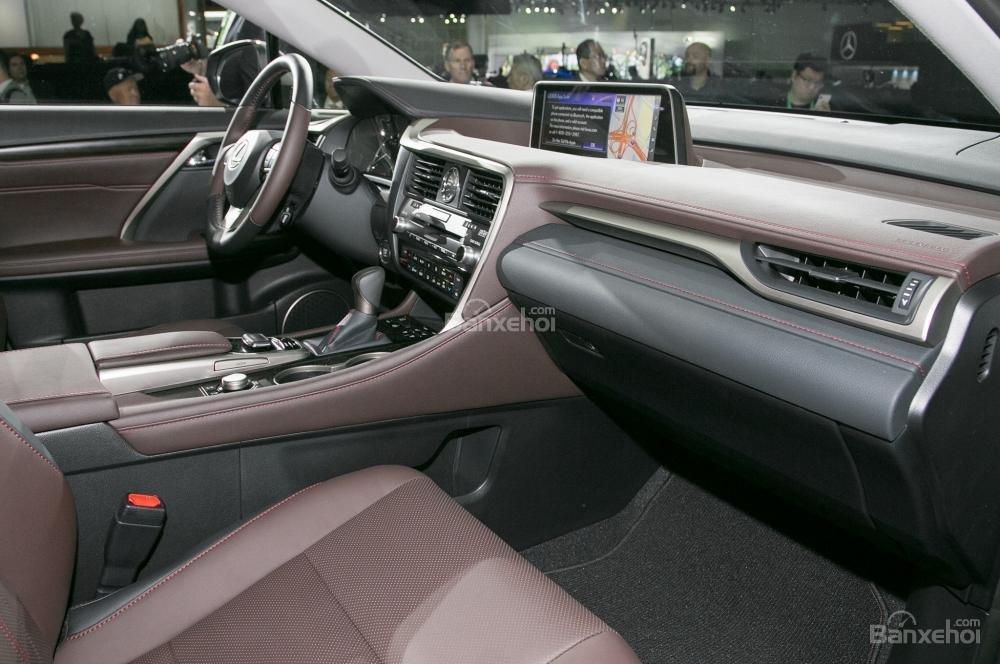 Khu vực bảng tablo Lexus RX L 2018