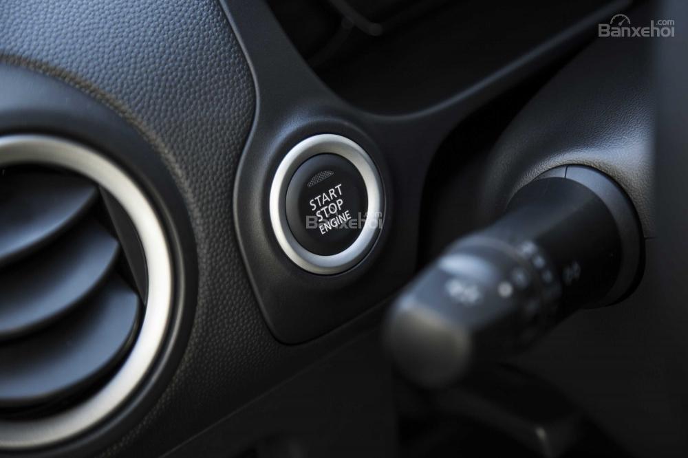 Nút bấm khởi động xe Mitsubishi Mirage 2018