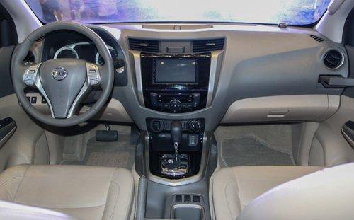 Thiết kế nội thất của Nissan Navara a4