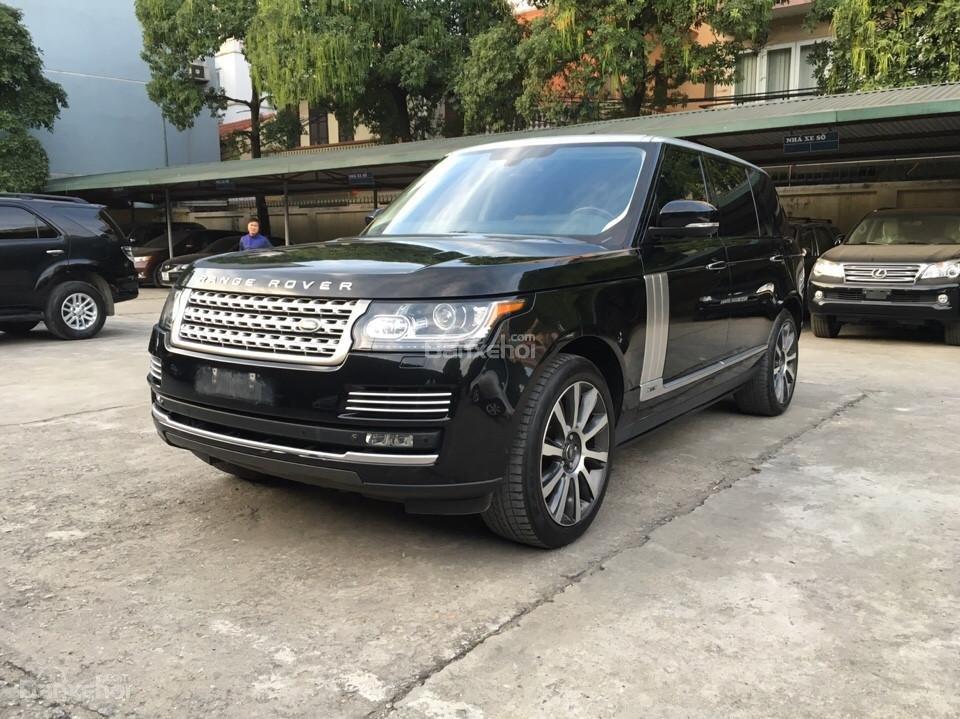 Range Rover Autobiography LWB 5.0 đời 2014, màu đen, xe nhập Mỹ (1)