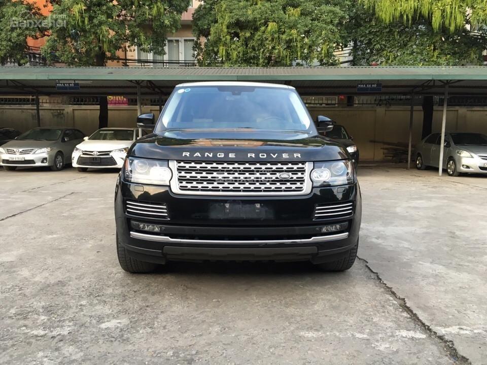 Range Rover Autobiography LWB 5.0 đời 2014, màu đen, xe nhập Mỹ (2)