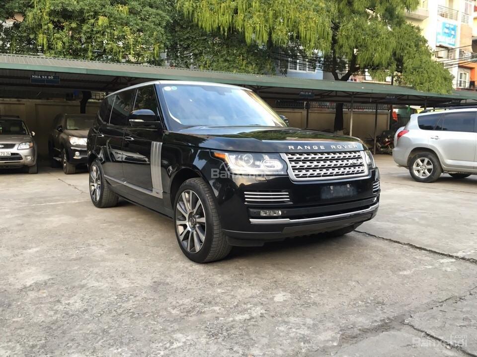 Range Rover Autobiography LWB 5.0 đời 2014, màu đen, xe nhập Mỹ (3)