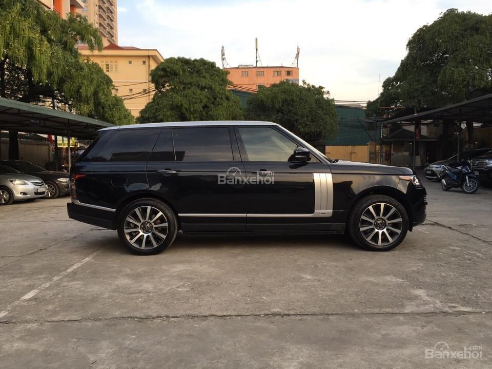 Range Rover Autobiography LWB 5.0 đời 2014, màu đen, xe nhập Mỹ (4)